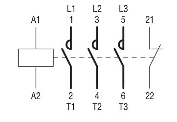Contattori appunti di tecnologie e progettazione classe for Teleruttore schema